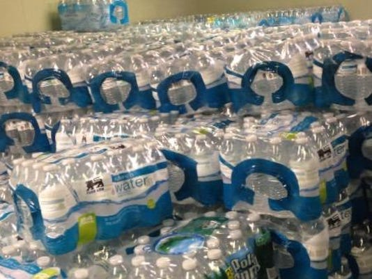 sby bottled water