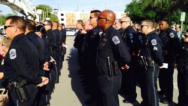 Fort Myers Police honor fallen officers.