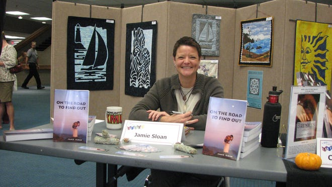 Author Jamie Sloan presents her work last year at Salem Public Library's Authroama. This year's event is from 1 to 4 p.m. Saturday, Sept. 20, at the central library, 585 Liberty St. SE.