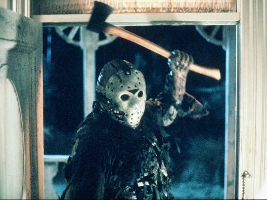 """Film: """"Friday The 13th Part III,"""" an outdoor film presented by Kathedral Event Center and Paradise Lakes Campground, for ages 17 and older, food available for purchase, 9 p.m. Oct. 13, tickets $10, fee for parking. Tickets: http://ticketf.ly/2vHNCvP. Information: (856) 685-6664. www.kathedral.com. www.facebook.com/kathedralnj. Paradise Lakes Campground, 500 Paradise Drive, Hammonton."""