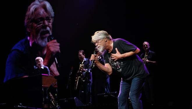 Bob Seger performs for a sold-out Palace of Auburn Hills for the venue's final event Saturday night.
