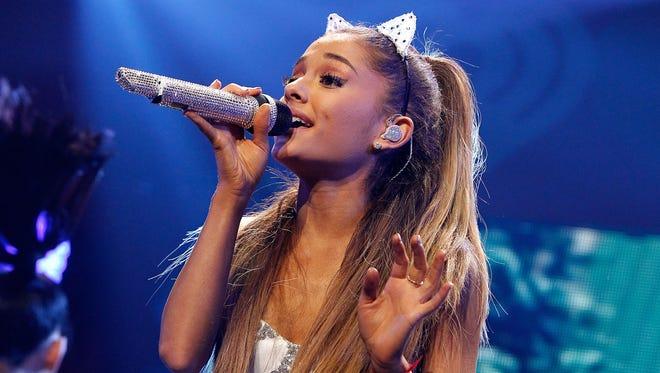 Ariana Grande was at a Syracuse-area Wegmans on Wednesday, Syracuse.com reports.