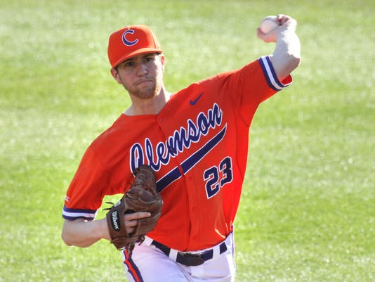 Clemson Wright State baseball
