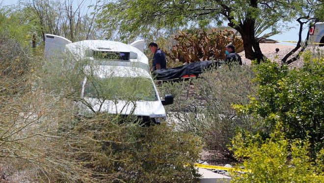 The bodies of Mary Simmons and Bryon Thomas were discovered in a Fountain Hills home by police on June 4, 2018. Police have tied the murders to Dwight Lamon Jones, who also killed four others during a killing spree that lasted several days.
