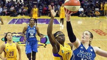 Lynx, Sparks prepare to finish electric WNBA Finals