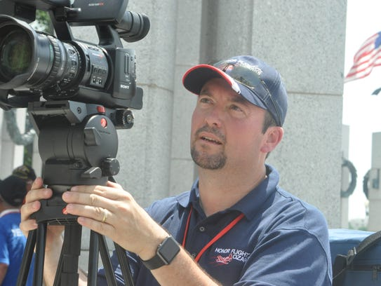 Mediacom television producer Corey Riggs was invited