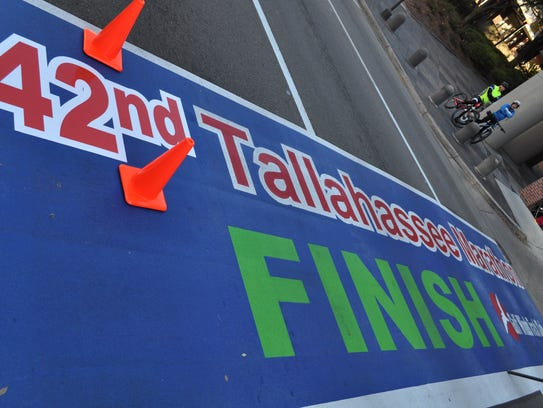 Tallahassee now has a permanent marathon finish line,