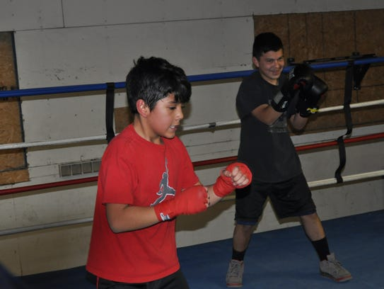 The Rocks Boxing Club in Ruidoso Downs.