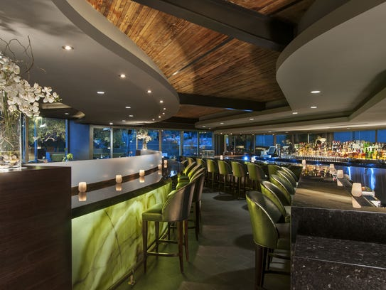Interior of the Jade Bar at Sanctuary Camelback Mountain.