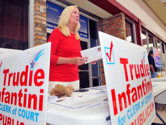 Trudie Infantini, a Republican who was running for