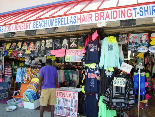 The Sassy Beachwear on the Boardwalk in Ocean City