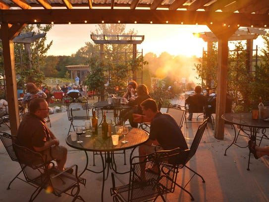 Fireside Winery in Marengo has four private bedrooms