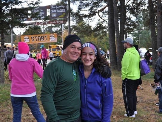 Peter Halper and his daughter, Maggie Halper. She says