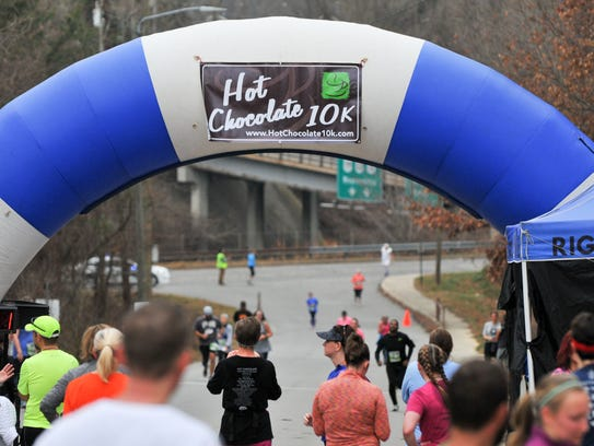 The 11th annual Hot Chocolate 10K is Jan. 20. There are kid-friendly races, too.