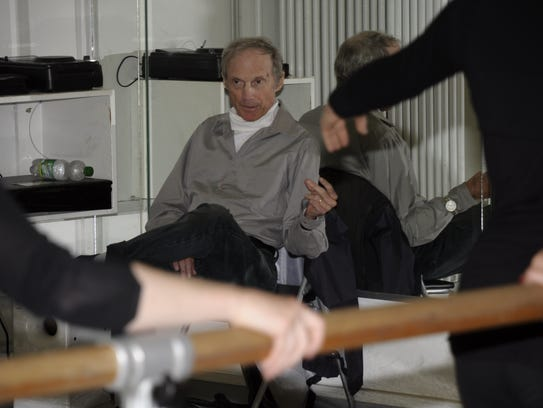 Robert Atwood is pictured teaching at the Tanzprojekt