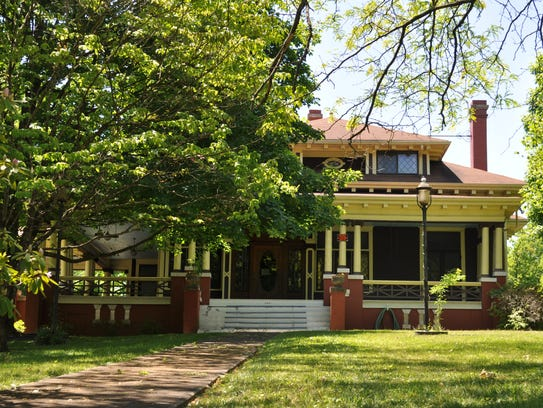 The Paul Howard House at 2921 N. Broadway is again