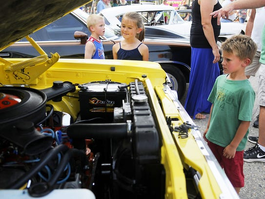 You'll find antique cars at Holdingford Daze.