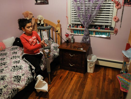Juliana Valdez (age 11) of Bergenfield, who  lost two