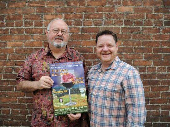 John Skelton and Jeff Witt at the Statesman Journal's