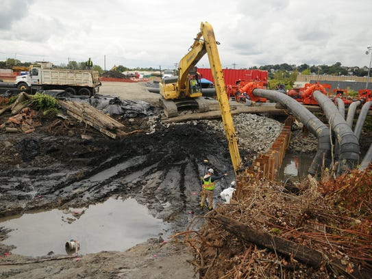 In 2009 the EPA cleaned out mercury-contaminated soil