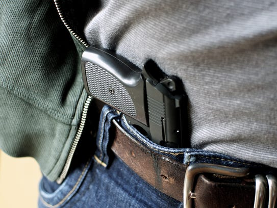 A concealed carry firearm. Sussex County Council introduced
