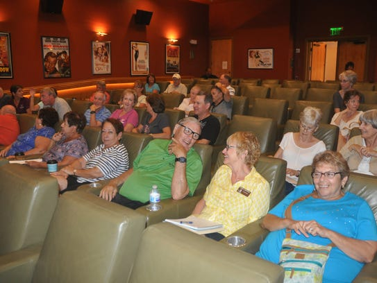 Pelican Preserve has a movie theater and gives out