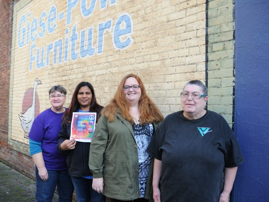 Members of the Confluence: Willamette Valley LGBT Chorus,