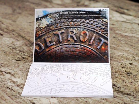 Detroit coloring book