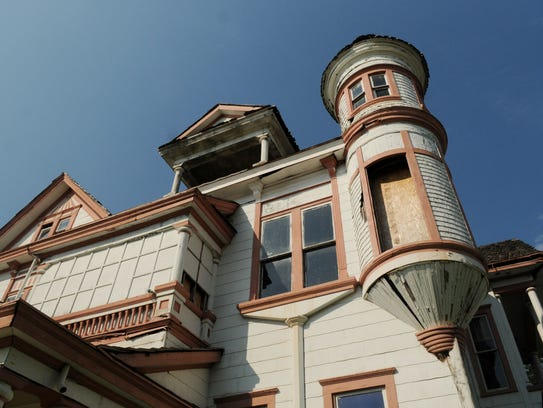 The Ogilvie-Weiner home is being renovated, and the
