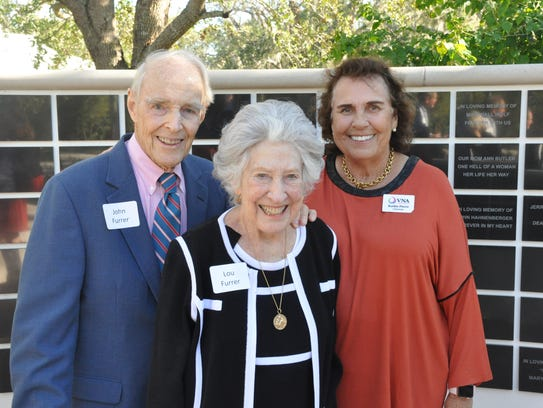 John and Lou Furrer with VNA & Hospice Foundation chairman