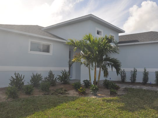 The Oasis model in Cape Coral is one of 58 homes in