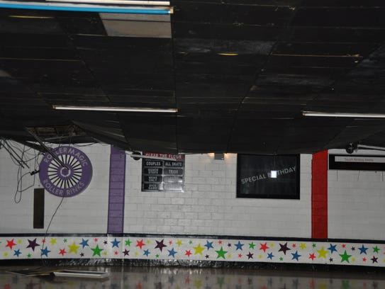 Portion Of Snow Packed Roller Rink Roof Collapses In South