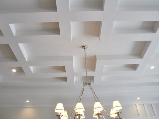 The Windward has ceilings that are creative and different.