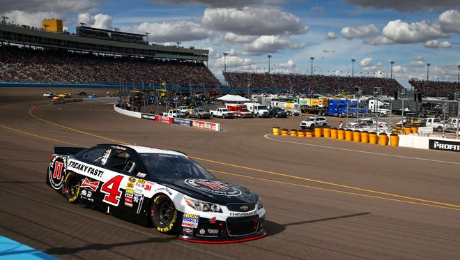 Phoenix International Raceway will install a temporary tire barrier at the exit of Turn 4 before NASCAR weekend March 13-15.