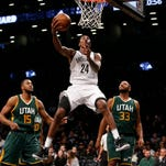 Hayward scores 30 points, Jazz beat Nets 101-89