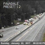 UPDATE: Snow chain checkpoint dropped on I-5