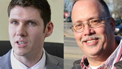 Zachary Vruwink, left, and Christopher Marceau, right. Photo of Robert Nash not available; he has not responded to requests for comment from Gannett Wisconsin Media.