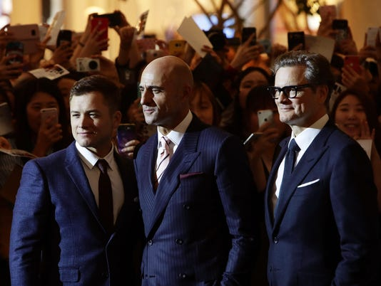 'Kingsman: The Golden Circle' Seoul Premiere