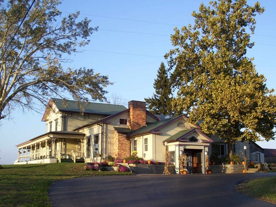 The Grill House is located two mile south of Allegan