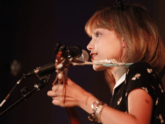 Grace VanderWaal performs at the Lafayette Theater in Suffern on Saturday, July 30, 2016.