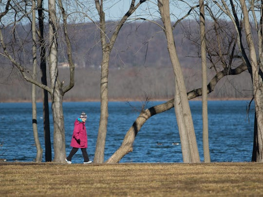 Walkers, runners and cyclists enjoy Rockland Lake State Park.