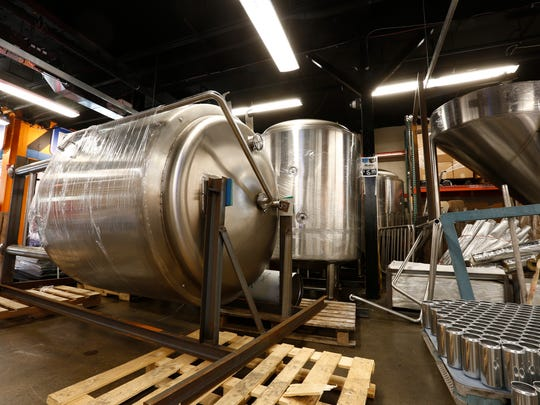Decadent Brewing Company's equipment located at Half