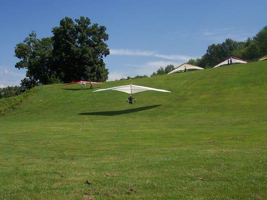 Hang gliding Catskills