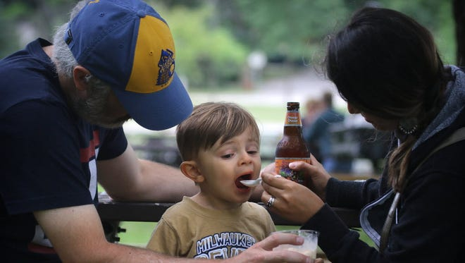 The traveling beer garden opens at Greenfield Park May 16 and will be there until June 3.