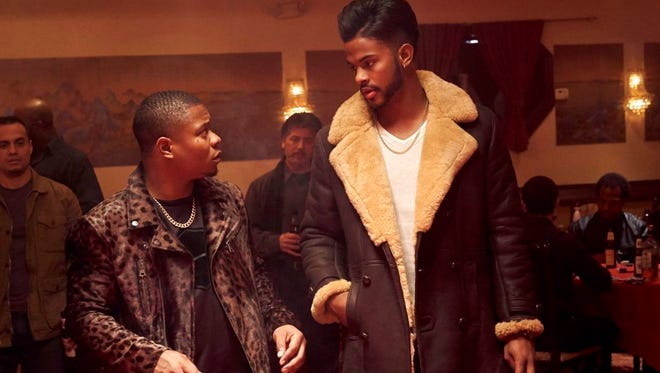 "Jason Mitchell, left, and Trevor Jackson in a scene from ""Superfly."" The movie opens June 14 at Regal West Manchester Stadium 13, Frank Theatres Queensgate Stadium 13 and R/C Hanover Movies."