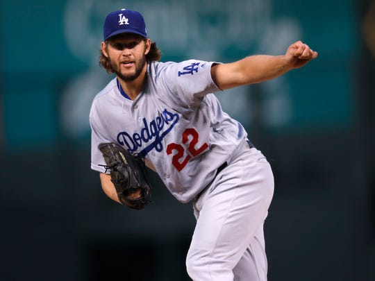 Clayton Kershaw led the NL with a 2.31 ERA.