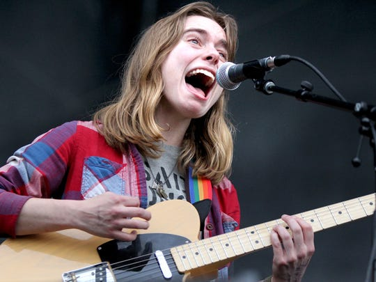 April 29, 2016 -  Julien Baker performs during the opening night of Beale Street Music Festival 2016.