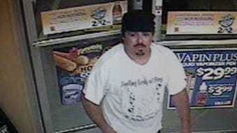 Surveillance image of a man accused of robbing a Bonita Springs Circle K