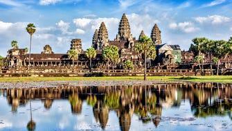 TripAdvisor also ranked the top landmarks in the world. 1. Angkor Wat, Siem Reap, Cambodia.