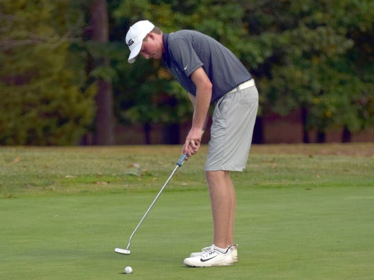 Robert E. Lee's Thomas Otteni took low-medalist honors with a 3-over 75 Tuesday at Lakeview Golf Club in Harrisonburg.